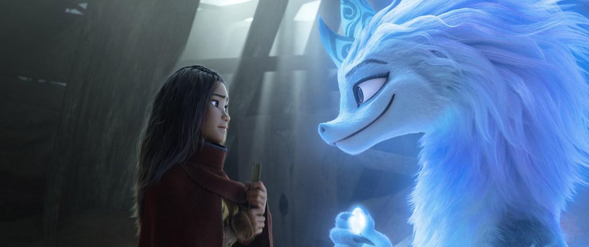 Raya y Sisu en Raya y el último dragón