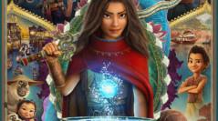 Raya y el último dragón - Poster final internacional