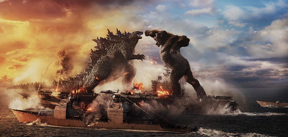 Godzilla y King Kong en Godzilla vs Kong