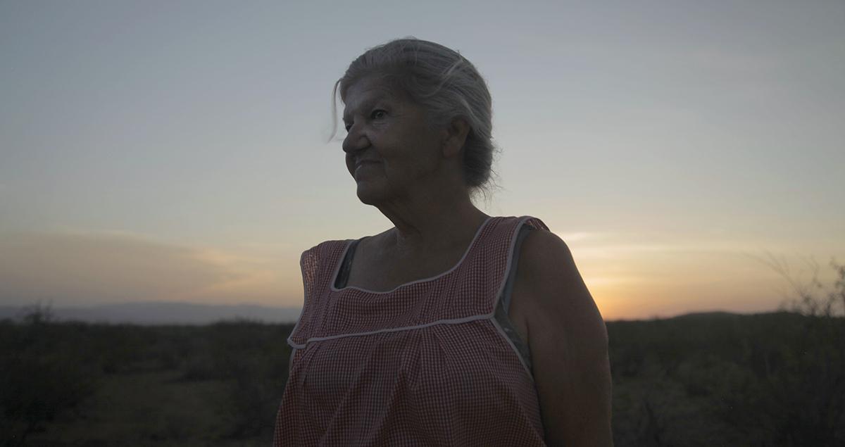 Linda May en Nomadland