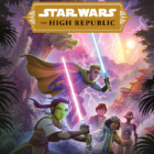 Portada de la novela juvenil de Star Wars: The high republic: Una prueba de valor