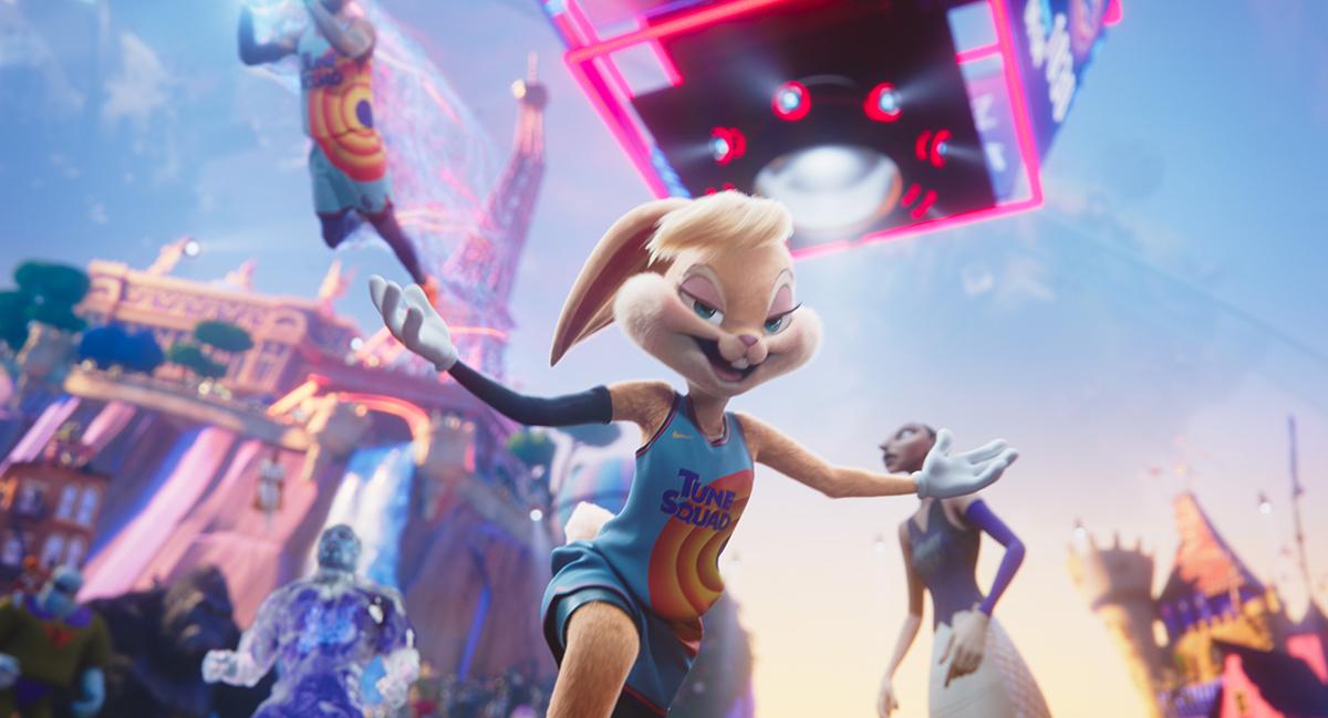 Lola Bunny en Space Jam: Nuevas Leyendas