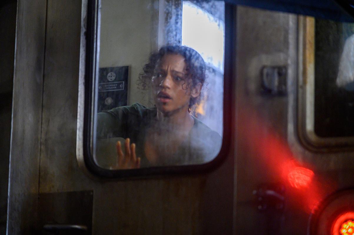 Taylor Russell en Escape Room 2: Mueres por salir